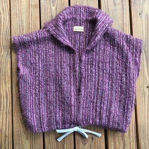 OOAK Handwoven Vest Top Sweater Wool Mohair 🦄